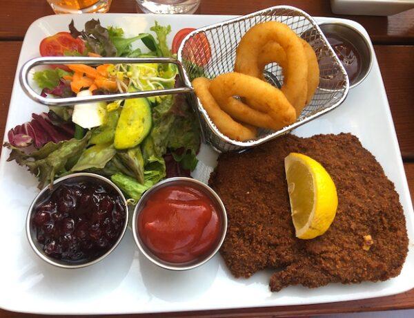 Vegan schnitzel Munich