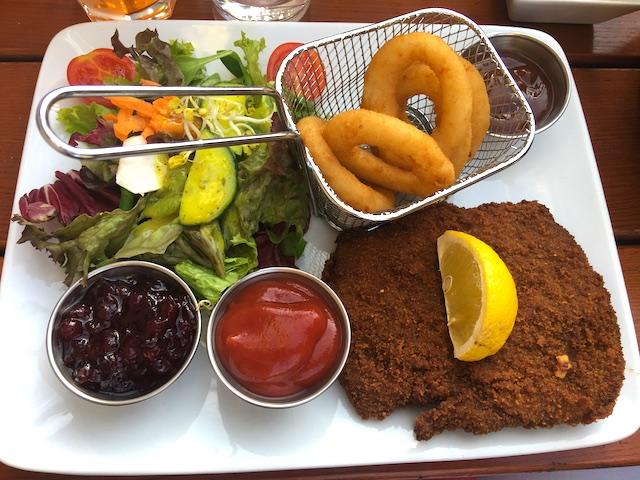 Vegan traditional German food in Munich
