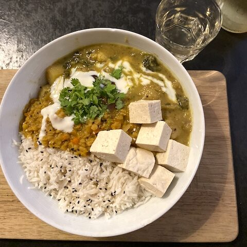 inexpensive vegan restaurant option Munich